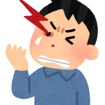 群発頭痛イラスト